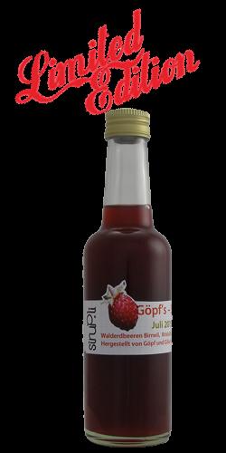 """<p>Walderdbeeren, eine """"limited Edition"""" aus unserer Sirup-Küche. Der Genuss von wilder Erdbeere in einem naturtrüben Erdbeerrot ist himmlisch aber sehr rar und auch nur in geringer Menge zu erhalten. Wir bieten diesen seltenen Sirup in 2.5 dl Schraubverschluss-Flaschen an.</p>"""