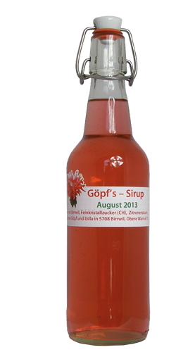 <p>Die wunderschönen, roten Blüten der Goldmelisse, die täglich neue Blüten hervorbringt, ergeben einen herrlich aromatischen Sirup. Ein Klassiker unter den Sirupsorten mit einem klaren Rotorange und mit einmalig, blütigen erfrischendem Geschmack. DER Durstlöscher im Sommer – DER Punsch für kalte Wintertage. Ein unvergleichliches Geschmackserlebnis!</p>