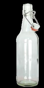 <p><strong>½ Liter Klarglasflasche mit Bügelverschluss !</strong><br />Universell einsetzbar undexklusiv in der Form<br /><br />Abmessungen:<br />Höhe in mm: 255.0<br />Durchmesser in mm: 69.6<br />Gewicht in g: 390<br />Füllvolumen in cl 50<br />Farbe: Klarglas<br />Lieferung INKLUSIVE Bügelverschluss <br /><br />Lieferzeit: Vorrätig</p>