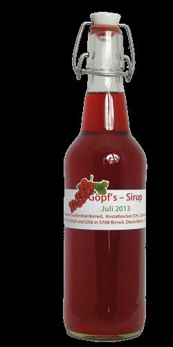 <p>Dieser rote, süss-säuerliche Beerensaft erfrischt und lässt den Sommer neu aufleben, wenn wir nach dem Schneeschaufeln in die warme Stube kommen. Ein Hochgenuss zu jeder Zeit.</p>
